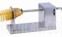 Bán máy cắt khoai tây lốc xoáy và bếp chiên