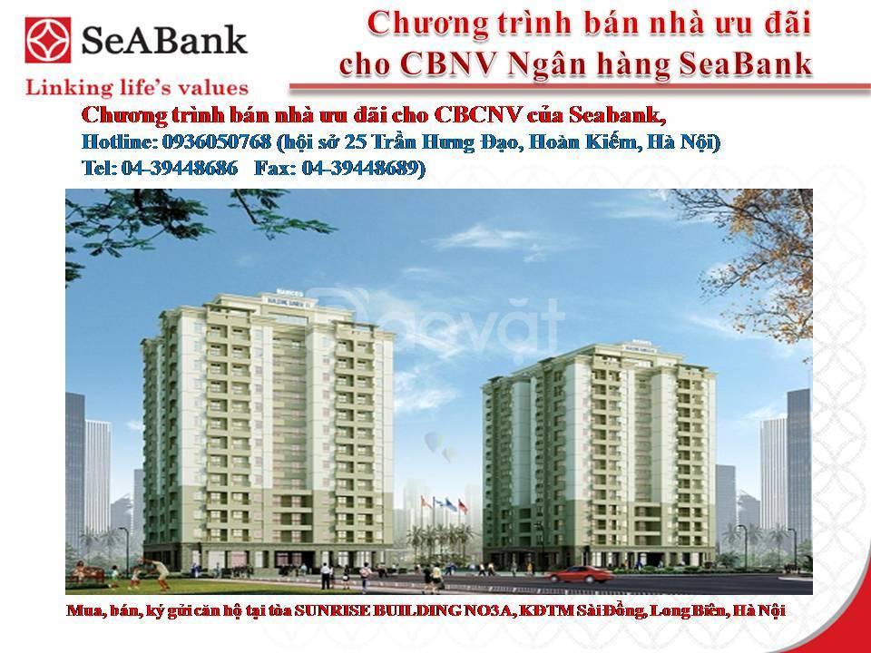 Bán Chung cư Sunrise Building III Sài Đồng