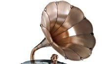 Bán loa kèn chạy đĩa than Pyle Vintage Phonograph