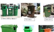 Thùng rác nhựa, composite, thùng rác con thú