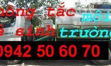 Chuyên Thông tắc cống toilet, thông tắc bồn cầu