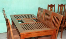 Bộ bàn ăn gỗ - Bàn ăn giá rẻ