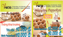 Trà sữa VNICE KM: Pappa Roti & Trà sữa chỉ 10.000đ