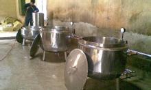 Nồi nấu cơm canh công nghiệp bằng hơi