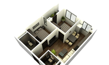 Mua nhà chỉ với 216 triệu tiền mặt căn hộ 54m2