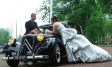 CITROEN Traction Avant chụp ảnh cưới, đưa đón dâu