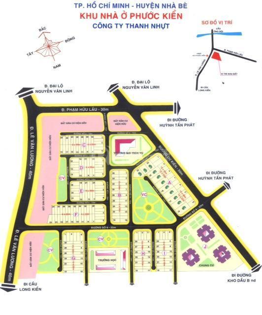 Đất nền dự án The Sun City-Phước Kiển, giá 9,9tr/m