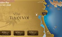 Đất nền ven biển Golden Bay Cam Ranh giá 3tr