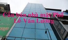 Bán nhà mặt phố Lê Văn Lương
