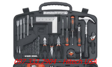 Bộ dụng cụ sửa chữa đa năng Black&Decker 126pcs