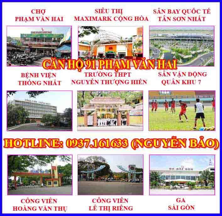 Căn Hộ 91 Phạm Văn Hai!!!
