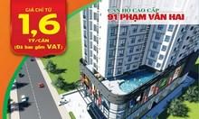 Mở bán căn hộ 91 Phạm Văn Hai quận Tân Bình