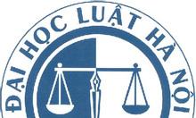 Tuyển sinh tại chức Đại học Luật Hà Nội