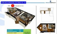 Starcity Nha Trang, căn hộ khách sạn biển1.2ty/căn