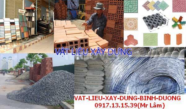 Cung cấp vật liệu xây dựng BINH DƯƠNG GIÁ RẺ