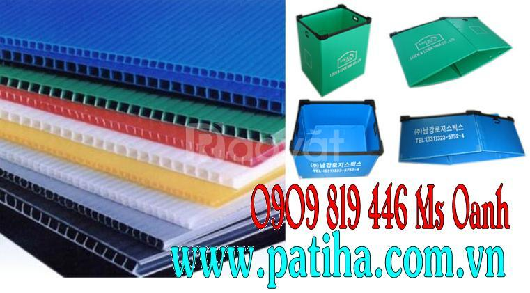 Thùng nhựa pp danpla (corrugated pp box)