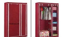 Tủ vải đựng quần áo Storge bền, đẹp giá 350.000Đ