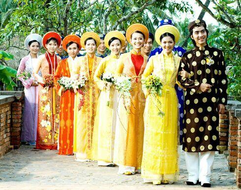Nhận dạy cắt may áo dài cưới, áo dài thời trang