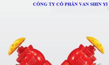 Van góc PCCC chữ Y kết nối DN 100 2 cửa ra DN65