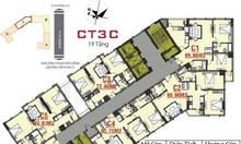 Bán chung cư CT3C Cổ Nhuế giá 22- 22.5tr/m2 (VAT)