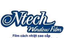 Phim cach nhiet Ntech, dán kính chống nóng