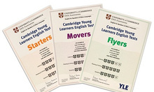 Luyện thi Starters, Movers, Flyers, KET, PET