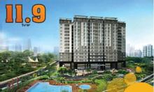 Căn hộ xanh 2PN quận Gò Vấp chỉ 11.9 triệu/m2