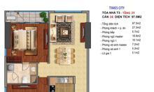 Cho thuê căn hộ Timescity
