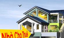 Cho thuê nhà phố Giang Văn Minh