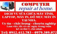 Sửa máy tính, máy in, đổ mực tại nhà Thanh Hóa