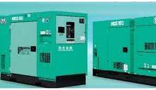 Máy phát điện nippon sharyo 700kVA Nhật Bản