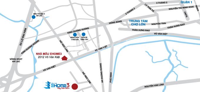 Bán căn hộ giá rẻ Ehome 3 Quận Bình Tân 47m2