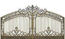 Cổng biệt thự, cổng nhôm đúc, cổng nhà đẹp