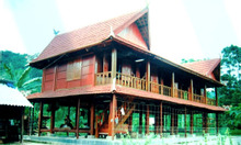 Bán nhà sàn Gỗ Lim 1,8 tỷ
