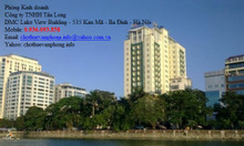 Apartment and office for lease Kim Ma st, Ha Noi