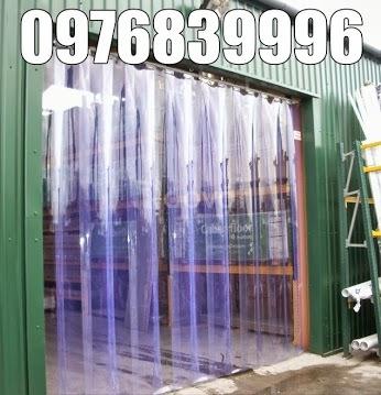 Màn nhựa pvc, mành nhựa ngăn bụi, rèm ngăn lạnh