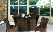 Bàn ghế cafe, bàn ghế cafe nhựa giả mây sân vườn