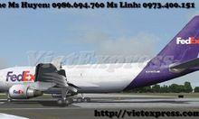 Nhập hàng quốc tế qua Fedex cho doanh nghiệp