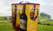 Cung cấp rượu vang hộp giấy 3L của Pháp