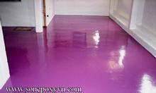 Chuyên thi công sơn sàn nhà xưởng giá rẻ
