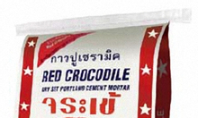 Keo dán gạch - keo chà ron hiệu cá sấu Thái Lan