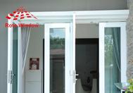 Cửa kính cường lực, vách kính cường lực Rôt Window