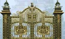 Cổng nhôm đúc, cổng đẹp, cổng đúc hợp kim nhôm