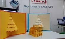 + Máy cắt khắc laser làm thiệp giấy 3D