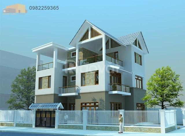 Kiến trúc sư nhận thiết kế kiến trúc công trình
