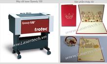 Thiệp giấy 3D và máy cắt laser lasertech.vn