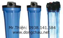Vỏ bình chứa lõi lọc, cốc lọc nhựa cốc inox