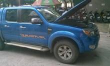 Ford Ranger XLT Wildtrak đời 2010 màu xanh coban