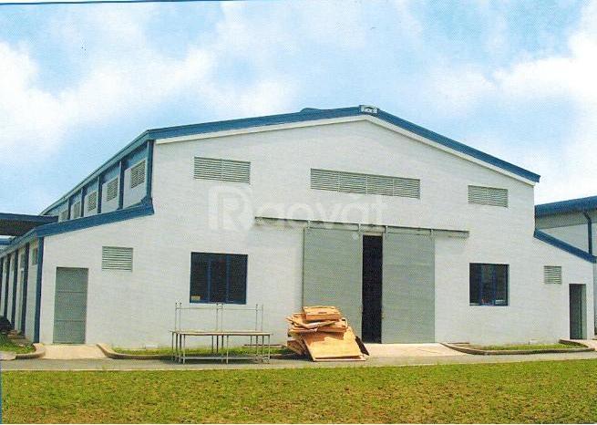 Thi công lắp dựng nhà Xưởng, Nhà Thép tiền chế