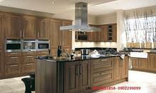 Sản xuất và lắp đặt tủ bếp gỗ tự nhiên